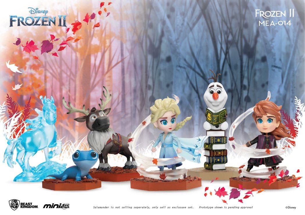娛樂品牌「野獸國」旗下Mini Egg Attack系列,嶄新推出「冰雪奇緣2」...