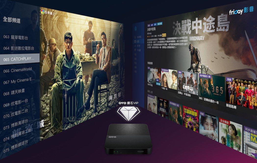 OVO鑽石VIP首創跨平台整合訂閱及鑑賞期,百台頻道+萬部影劇只要249元。 O...