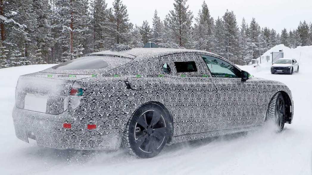 新世代Jaguar XJ將推出純電版本。 摘自insideevs