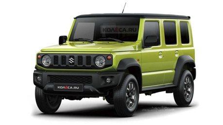 外傳全新五門Suzuki Jimny搶先於印度上市!?