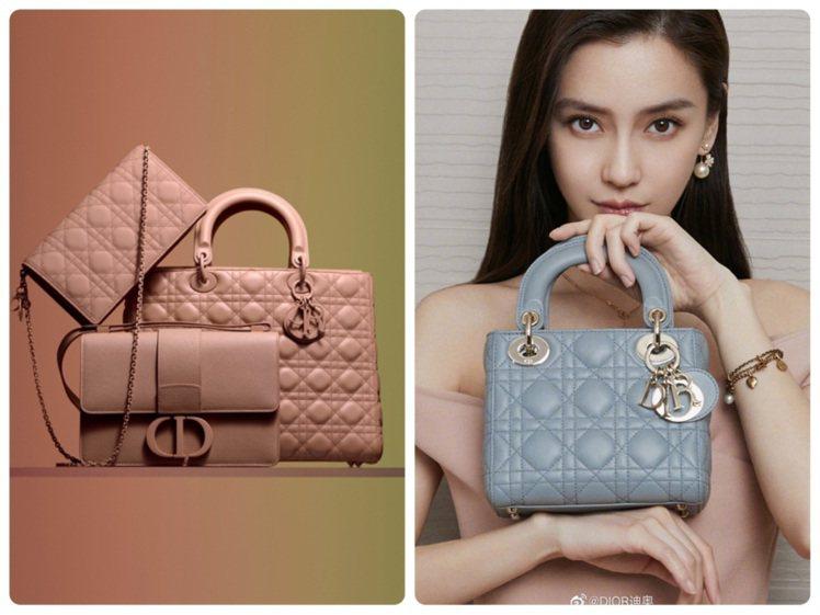 Angelababy詮釋的Lady Dior手袋,推出全新Ultra Matte...