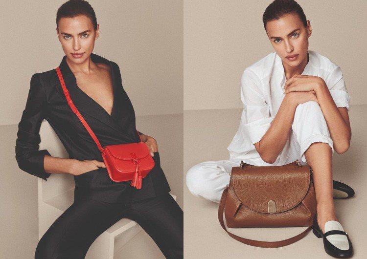 俄羅斯超模Irina Shayk穿戴 2020春夏FULRA新包款,展現簡約的色...