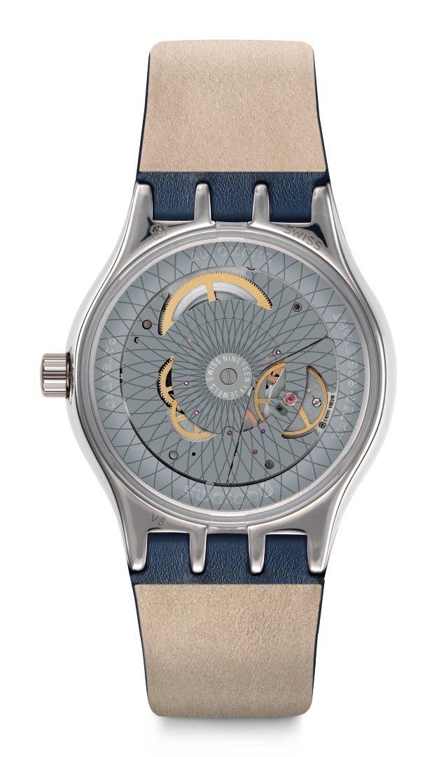 SWATCH51號星球金屬元素腕表,搭載了高抗磁Nivachron ™游絲,備受...