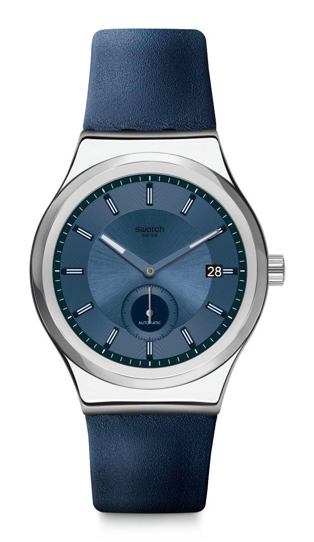 SWATCH51號星球金屬元素腕表,不鏽鋼表殼6,950元。圖/SWATCH提供