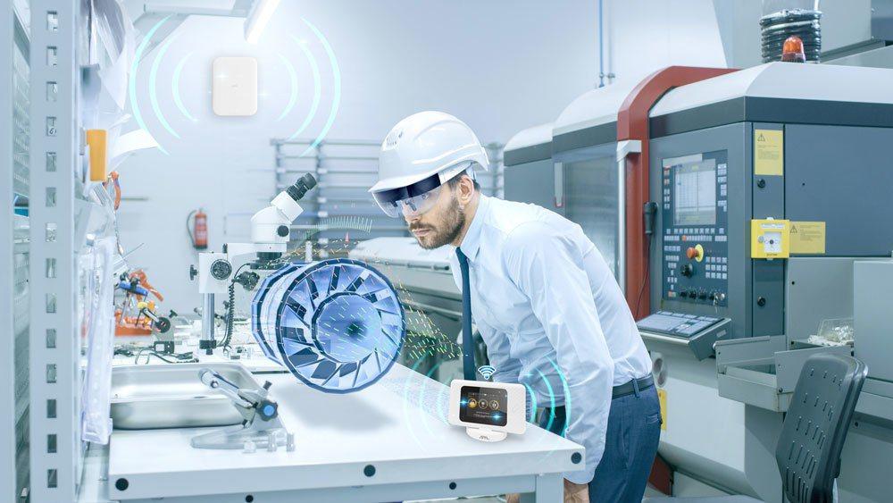 仁寶5G應用工廠產品。仁寶/提供