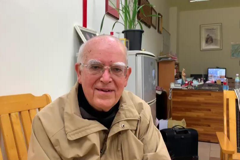 影/呂若瑟神父台語義大利語致謝 善款擴大幫歐洲國家