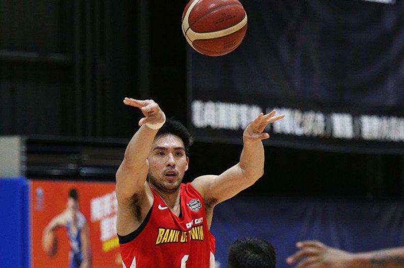 台銀隊老將陳順詳今天宣布告別球員身分,邁入人生新里程。 圖/中華籃球協會提供