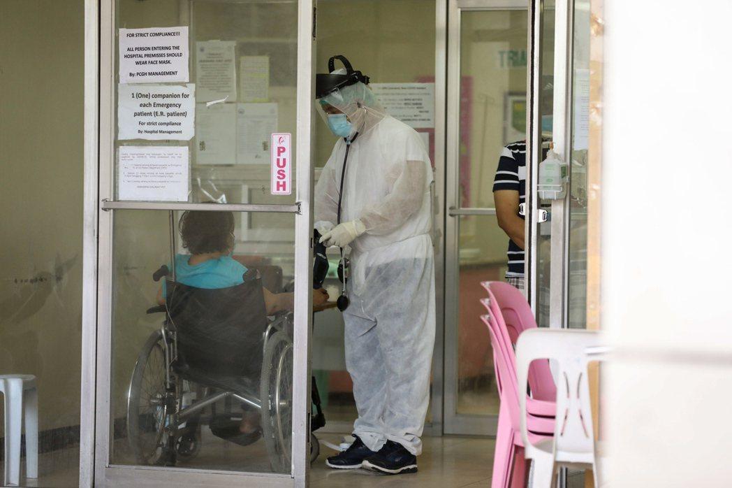 菲律賓禁止醫療人員出國。歐新社