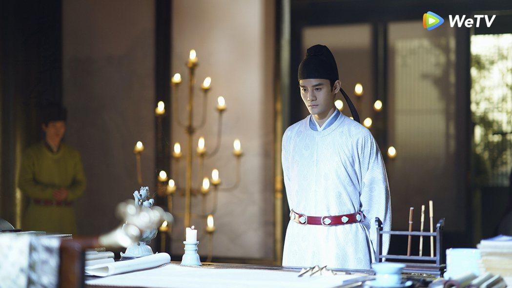 王凱在「清平樂」戲中很會撩。圖/WeTV提供