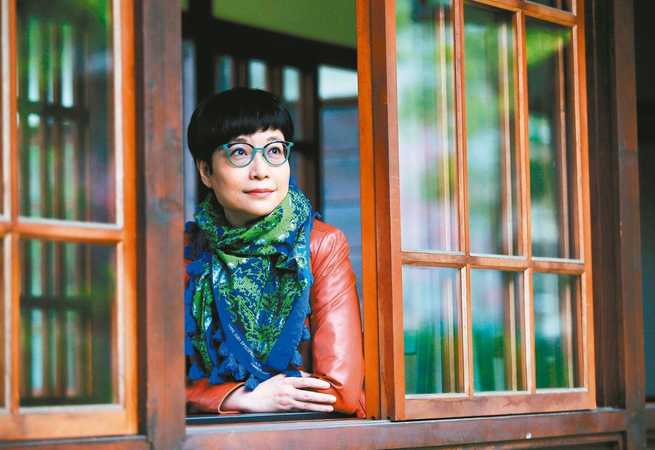 身為寫作者,張曼娟比一般人更有機會思考身為照顧者的種種處境。記者潘俊宏/攝影 攝...