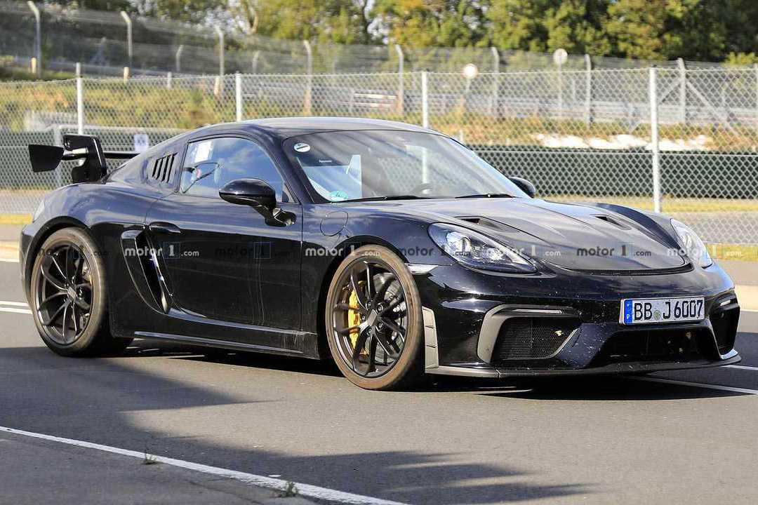 Porsche 718 Cayman RS GT4即將發表 500匹馬力強勢登場