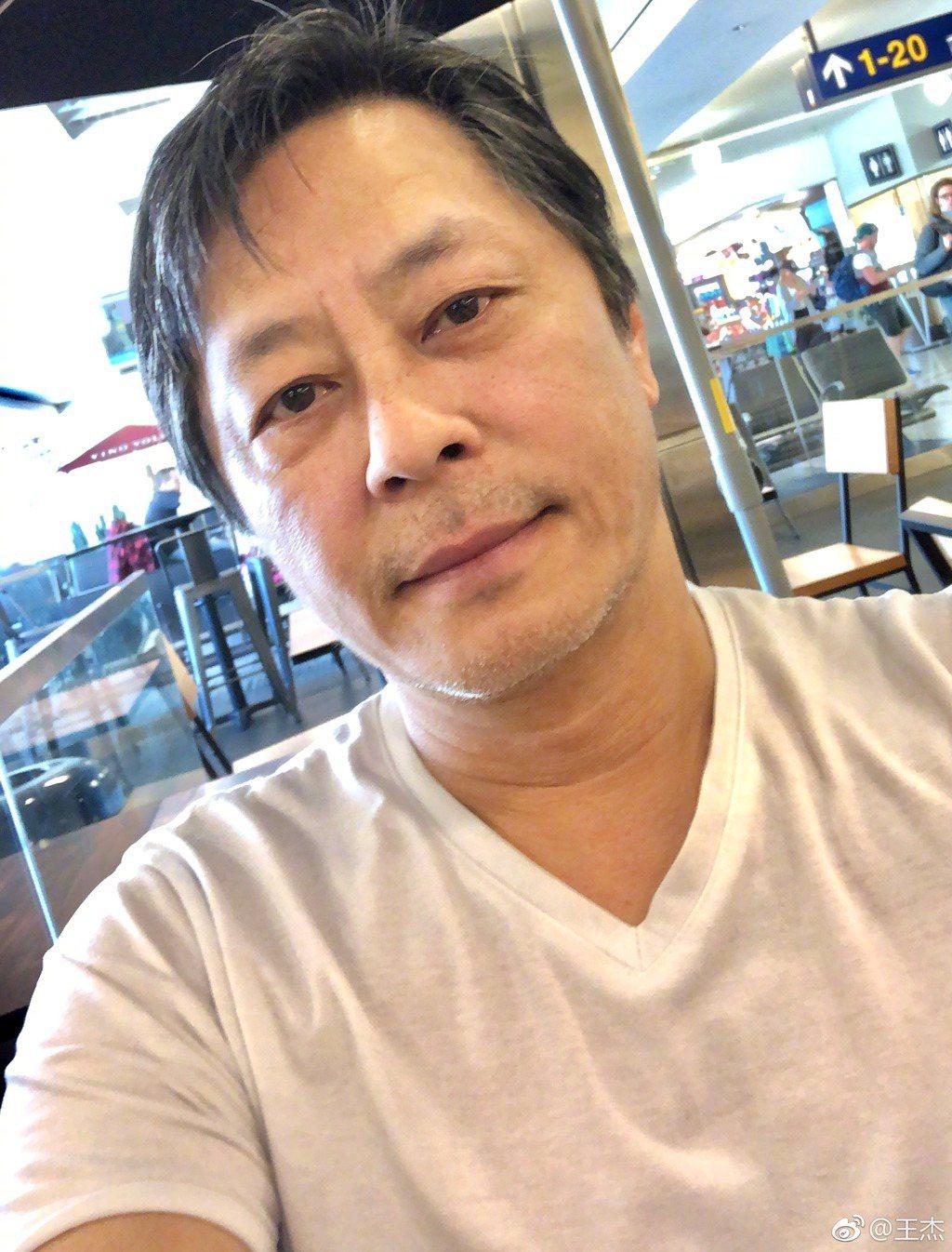 圖為王傑去年3月照片。圖/擷自王傑微博