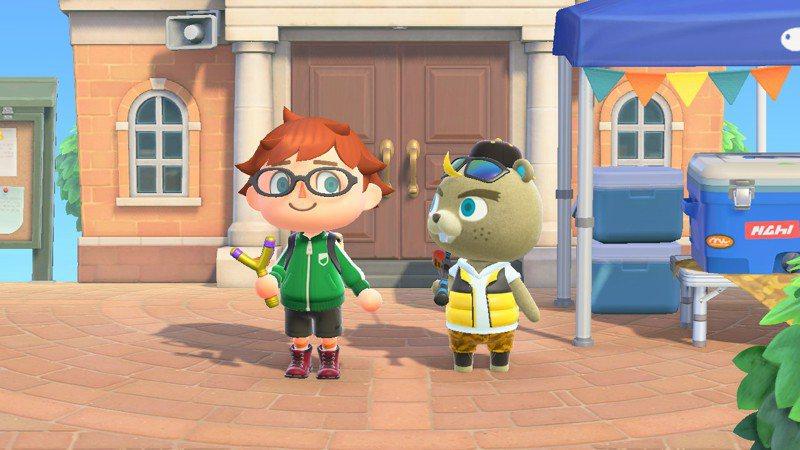 遊戲《動物森友會》因自由度極高,受到玩家喜愛。 圖/翻攝自twitter@orangerock05