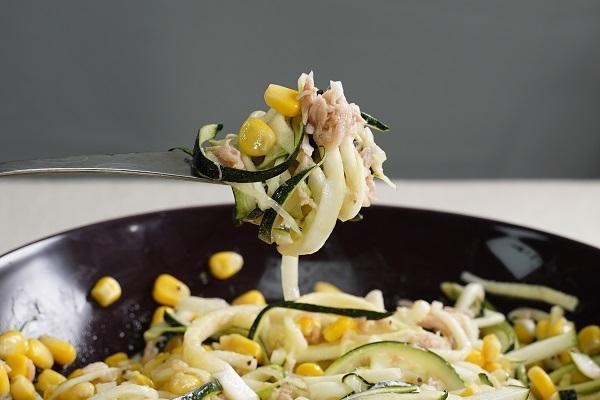 節瓜麵沙拉,清爽開胃。(圖/台灣好食材)