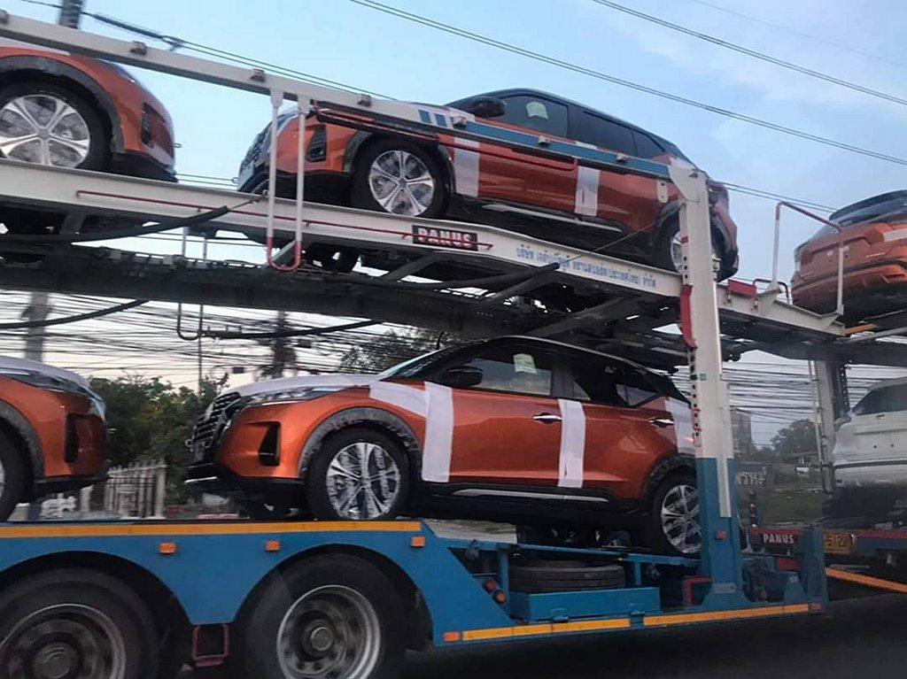 泰國HeadlightMa汽車論壇日前搶先曝光小改款Nissan Kicks外觀...