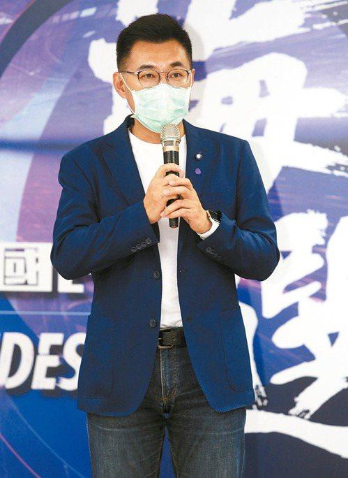 改革黃復興黨部,對江啟臣來說是是艱巨的挑戰。 記者曾吉松/攝影