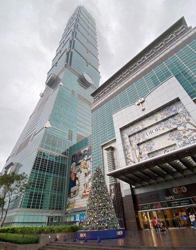 台北一○一大樓可望降租。圖/聯合報系資料照片
