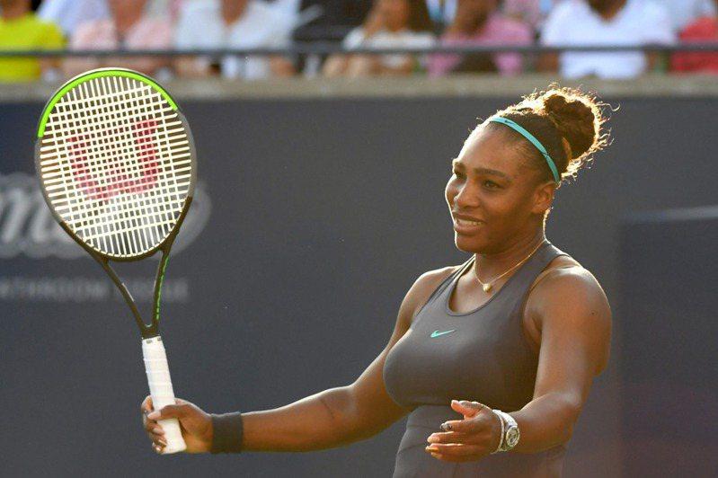 美國名將小威廉絲(Serena Williams)將「失業」作為養精蓄銳過程,表示膝蓋已經完全沒有疼痛感覺。 路透