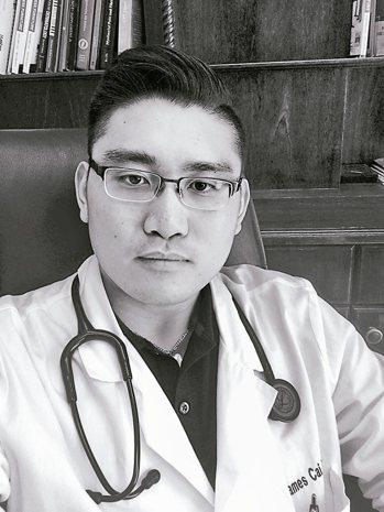 32歲的詹姆斯.蔡是美國新澤西州新冠肺炎確診首例。 圖/取自紐約時報