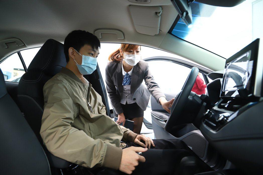 疫情升溫及油價下跌,讓民眾選擇改以自駕通勤。 記者陳立凱/攝影