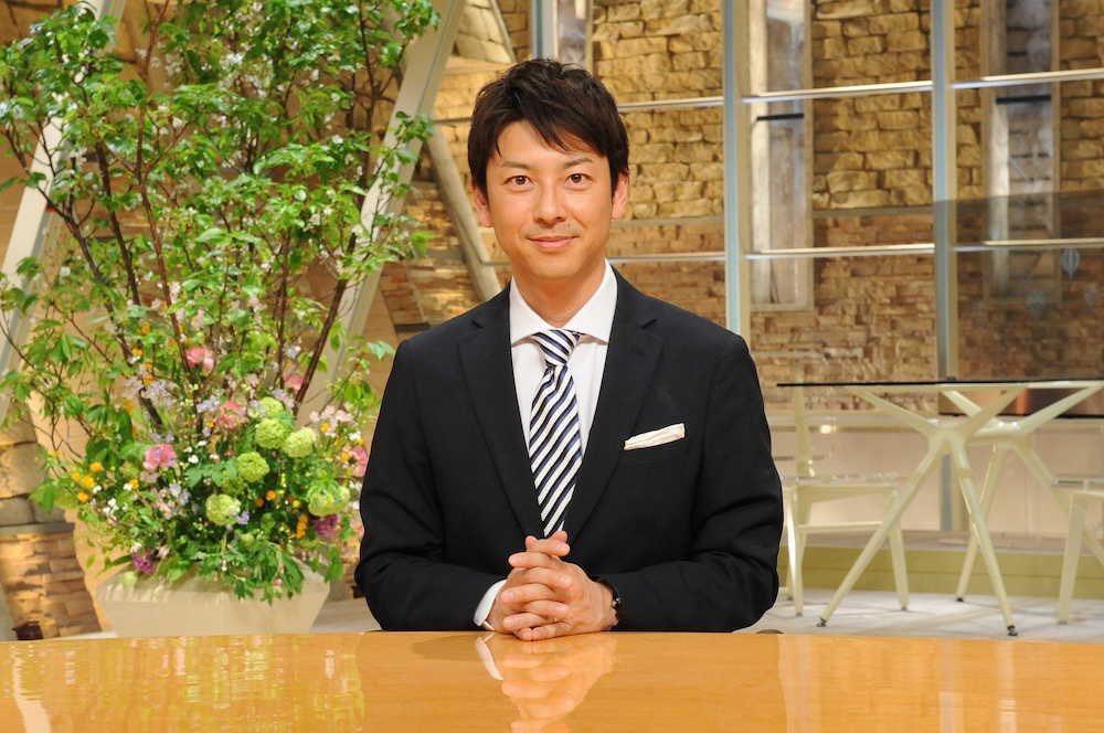 日本朝日電視台主播富川悠太確診新冠肺炎。 圖/擷自推特