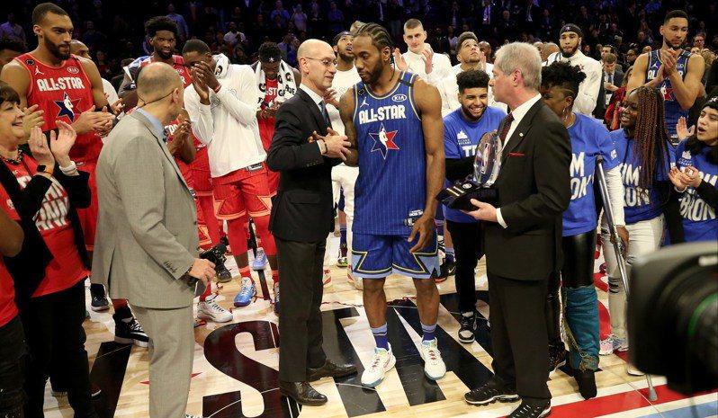 傳NBA樂觀預估6月復賽。 法新社