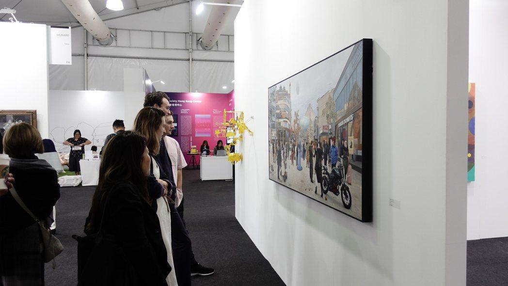 台北當代的行銷吸引許多不曾踏入藝博會的人進入,一口氣讓廣大民眾窺視了世界級畫廊水...
