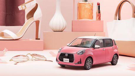 """不僅舒適安全Toyota Passo MODA """"Charm""""特仕車 粉色超可愛!"""