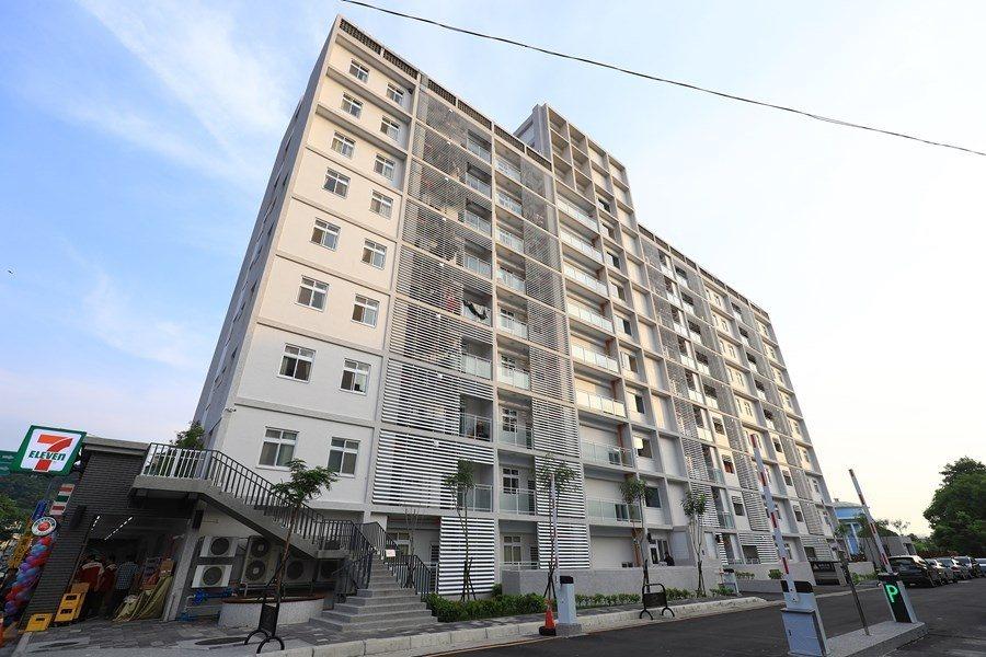 台中市社會住宅租金可緩繳4個月。圖/台中市新聞局提供