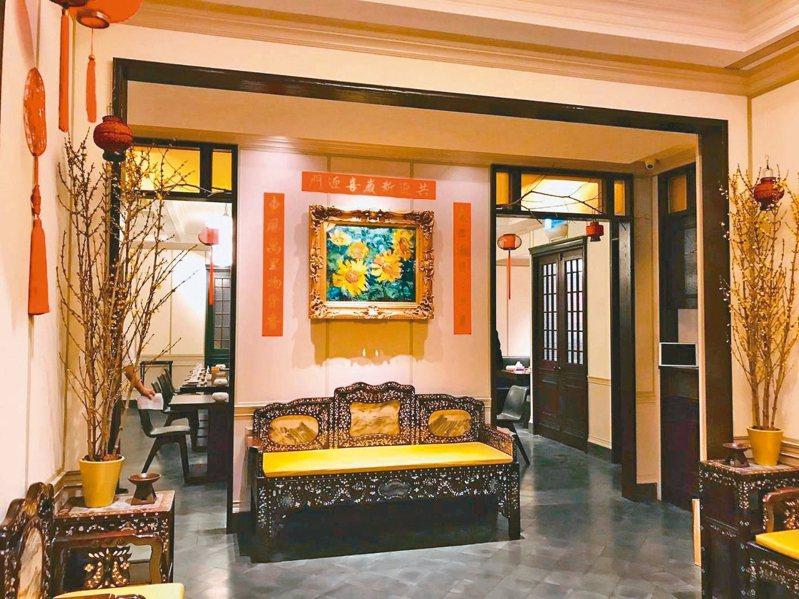 山海樓餐廳古色古香,是一棟在都市中的復古大宅院。 圖/取自山海樓官網