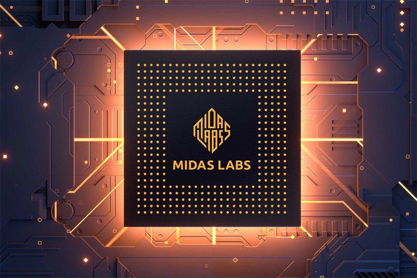 Midas Labs開發晶片圖示。 明鏈科技/提供