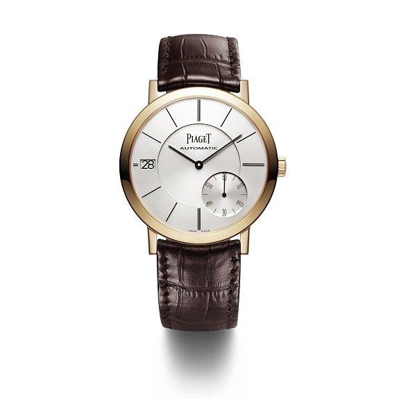 PIAGET,Altiplano系列18K玫瑰金超薄自動上鍊腕表,因為超薄,馭簡...