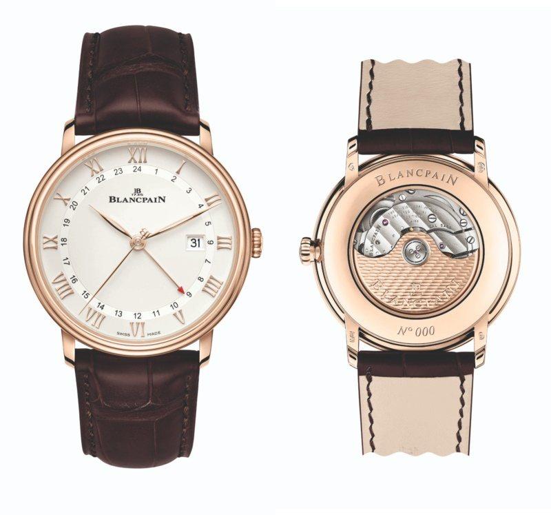 Blancpain,Villeret系列GMT日曆腕表,古典、但不隨眾,是真實的...