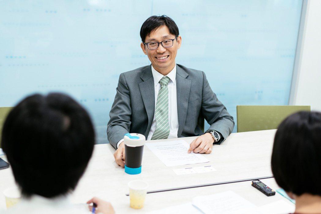 《倡議+》於日前專訪陳昇瑋,他分享台灣人工智慧產業諸多見解。 圖/陳軍杉攝影
