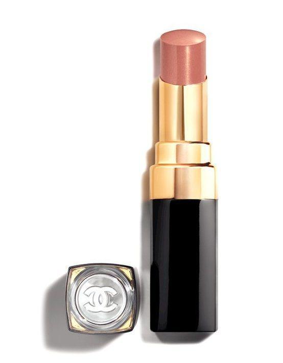 COCO晶亮水唇膏#116輕鬆:裸粉色 3g,1,280元。圖/香奈兒提供