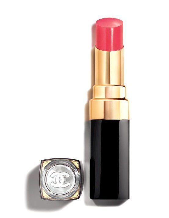 COCO晶亮水唇膏主打色#118 冰凍:櫻花粉 3g,1,280元。圖/香奈兒提...