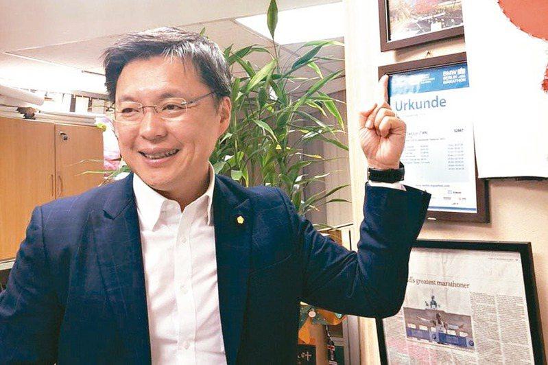 民進黨高雄市立委趙天麟。 圖/聯合報系資料照片