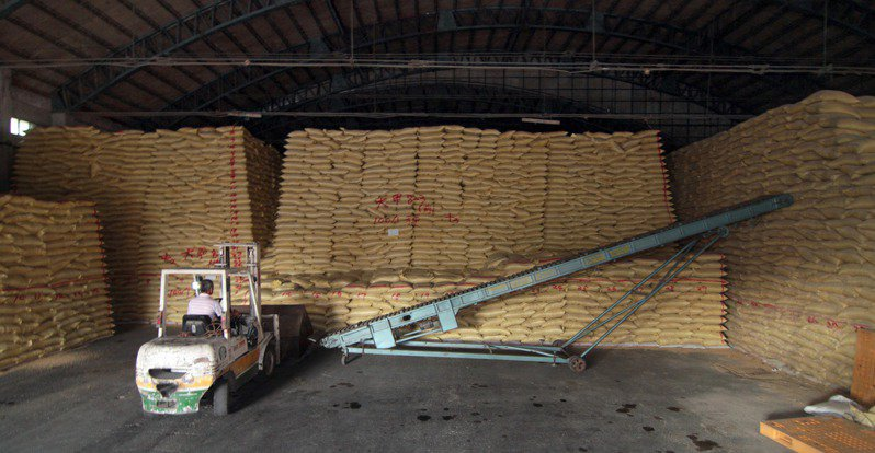 公糧糧倉。 圖/本報系資料照片
