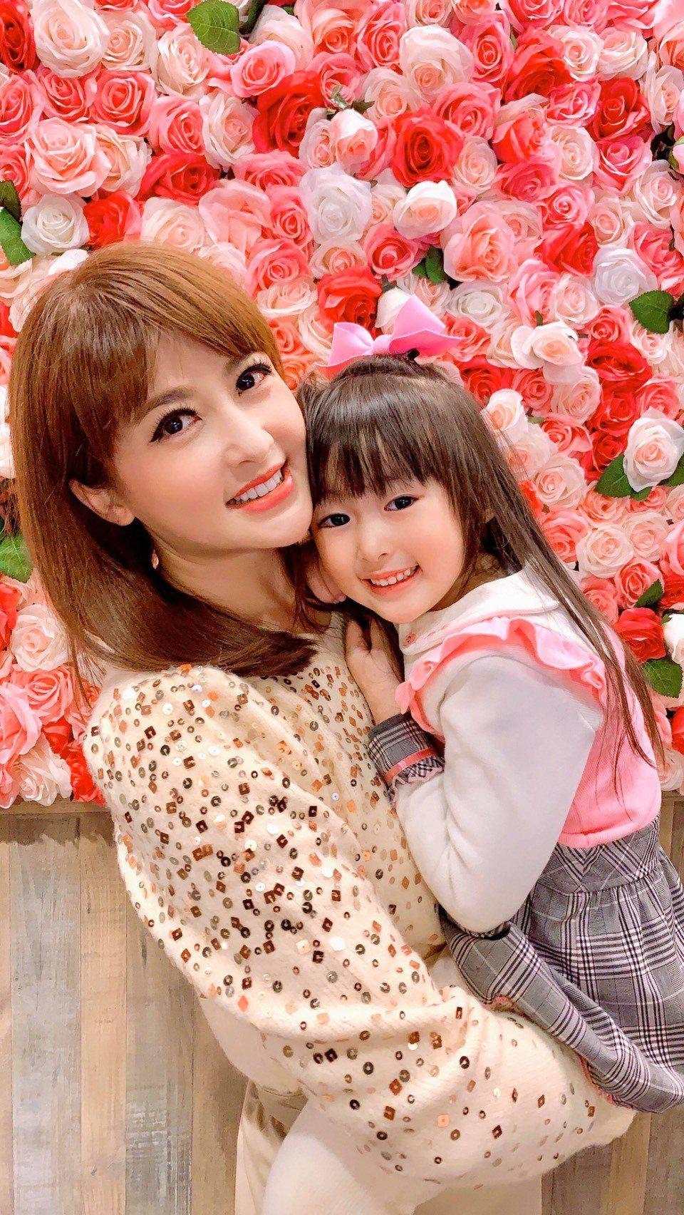 陳海茵私下以照顧女兒為樂。圖/陳海茵提供