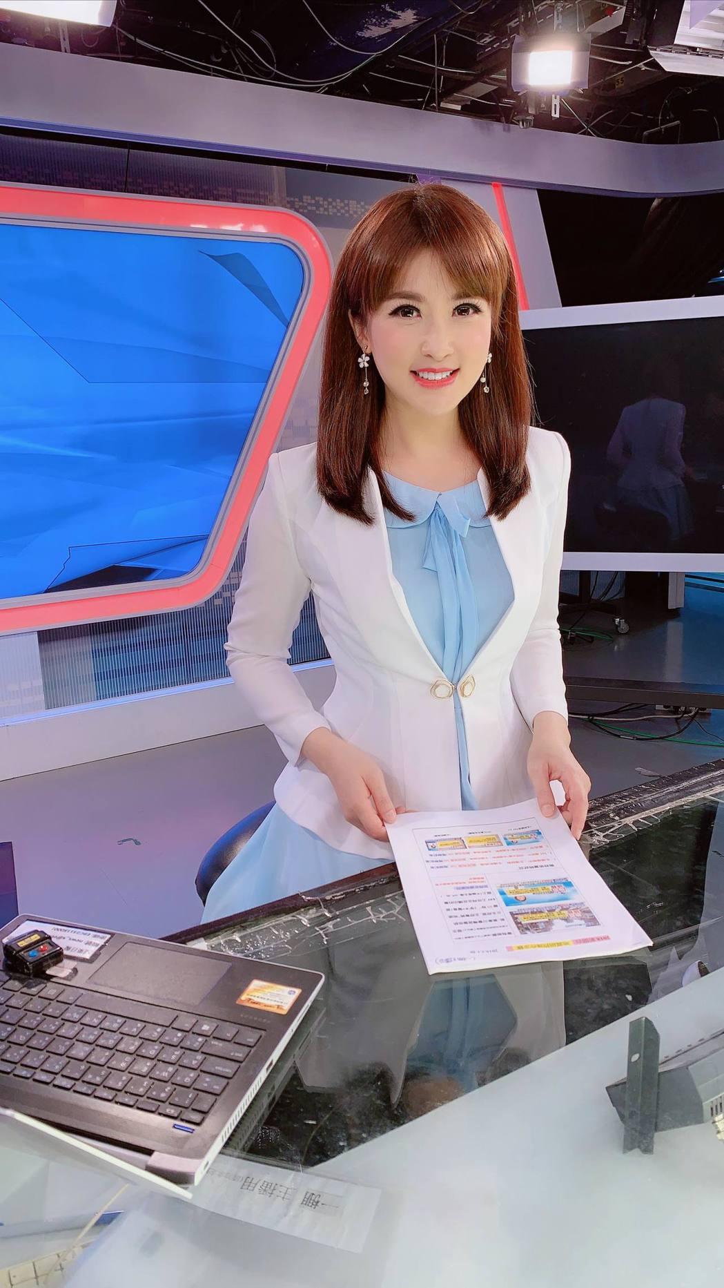 陳海茵13 日宣布退下主播台。圖/陳海茵提供