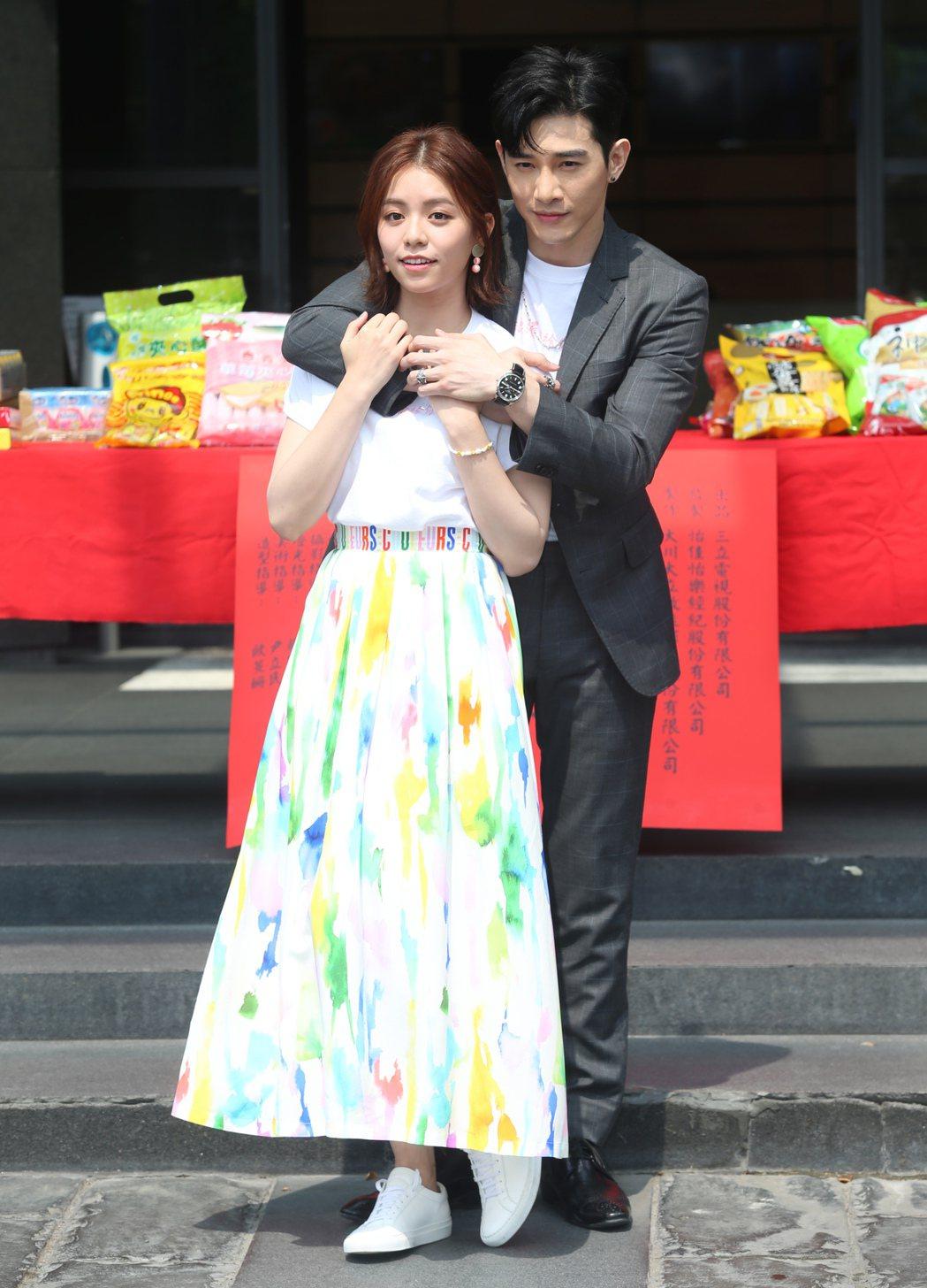 「浪漫輸給你」14日舉辦開鏡典禮。記者徐兆玄/攝影