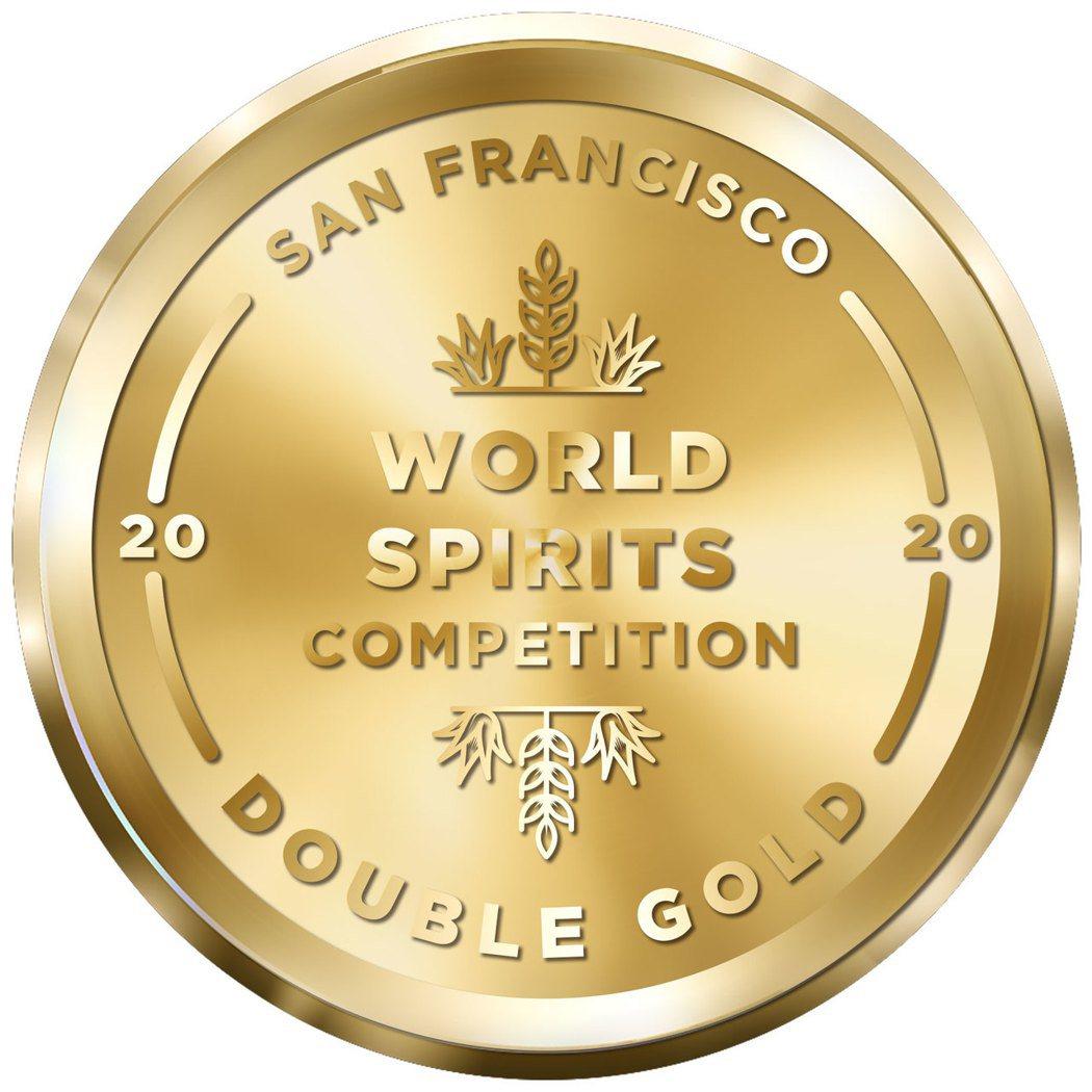 2020年SFWSC舊金山世界烈酒競賽雙金牌(Double Gold)。業者/提...