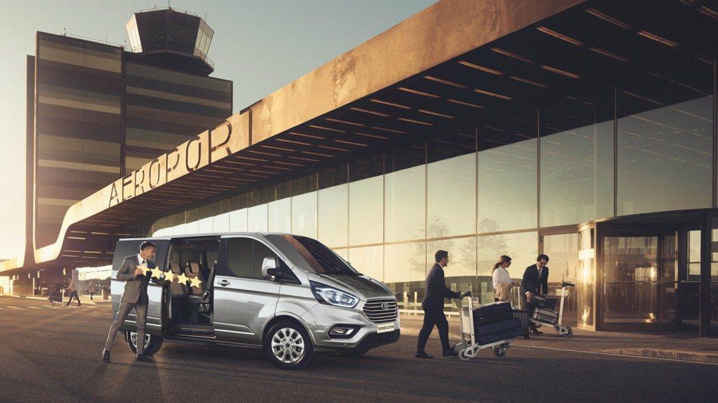 Ford Tourneo Custom連續5年蟬聯歐洲商用車銷售第一。 圖/福特...