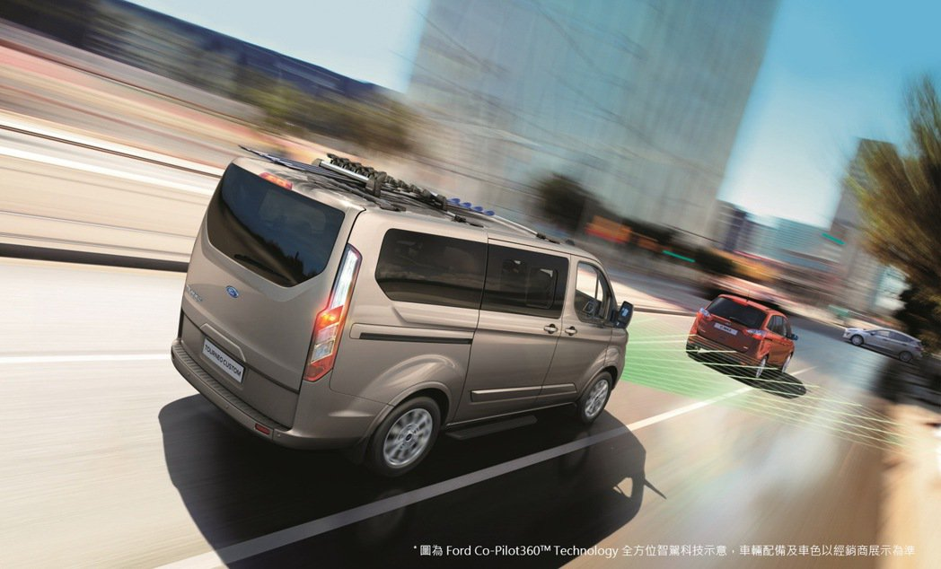New Ford Tourneo Custom福特旅行家領先同級車導入Ford ...