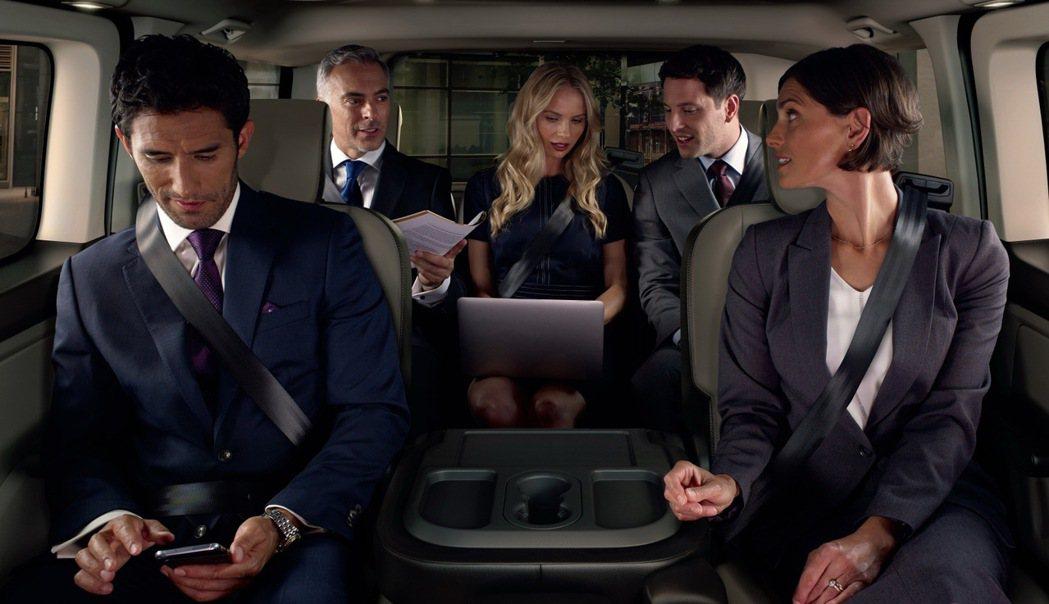 New Ford Tourneo Custom福特旅行家以商務旗艦之姿滿足消費者...
