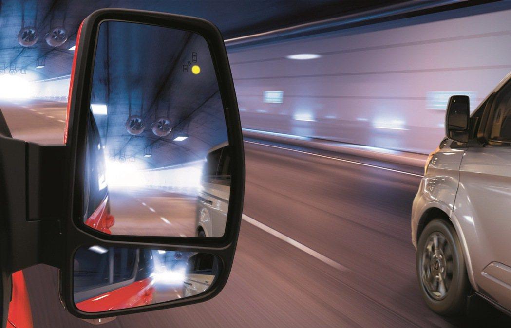 New Ford Tourneo Custom福特旅行家,配備BLIS 視覺盲點...
