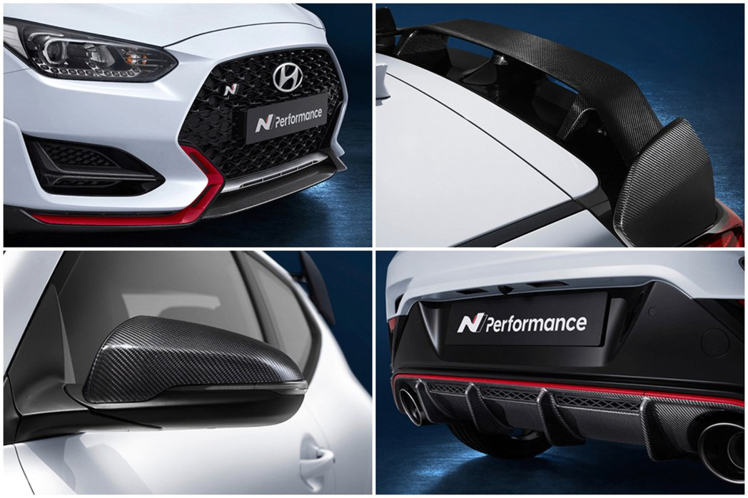 Hyundai N Performance Parts。 摘自Hyundai