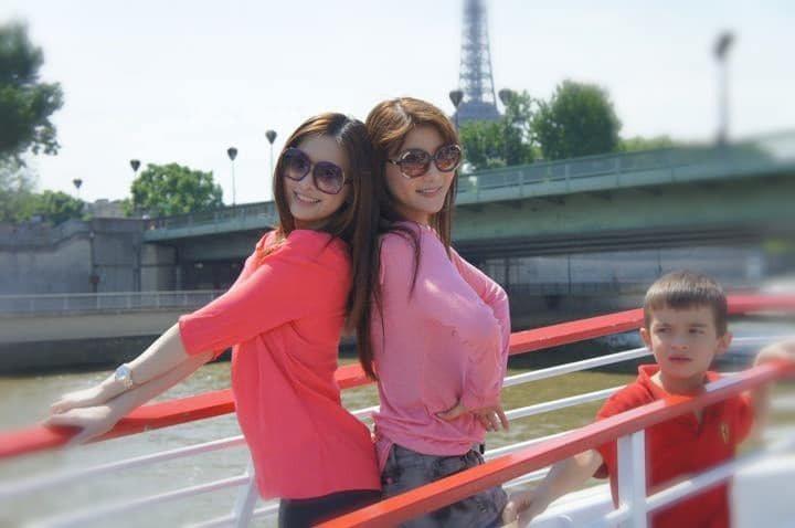 楊麗菁與劉真是多年好友。圖/擷自facebook。
