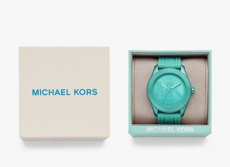 Maddye系列手表並附同色系表盒,從表款、印刷字體,由內而外,鮮色奪目。圖 /...