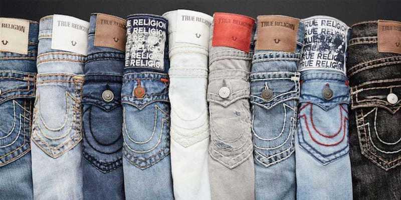 True Religion再度聲請破產保護。  網路圖片